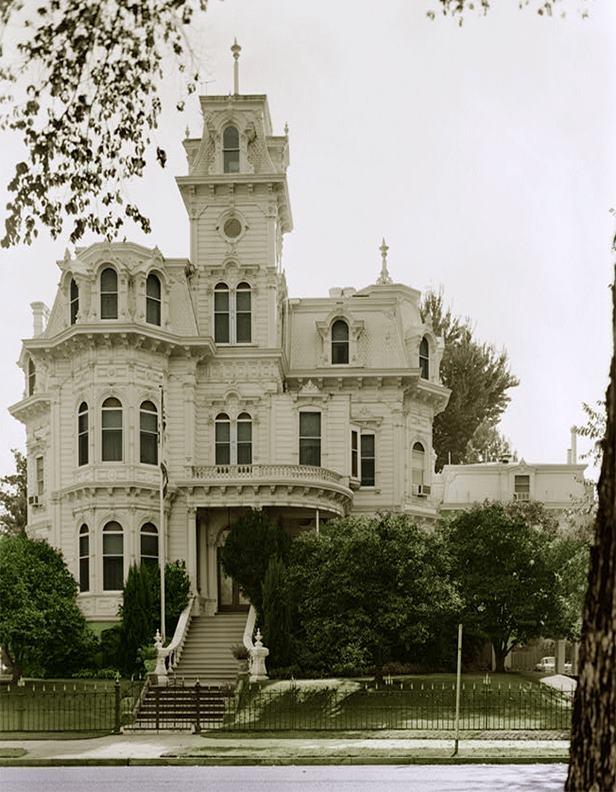 Albert Gallatin House In Sacramento This House Became