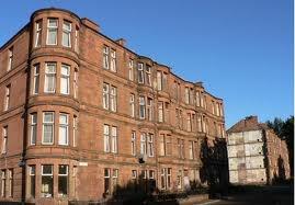 victorian tennement scottish architecture -
