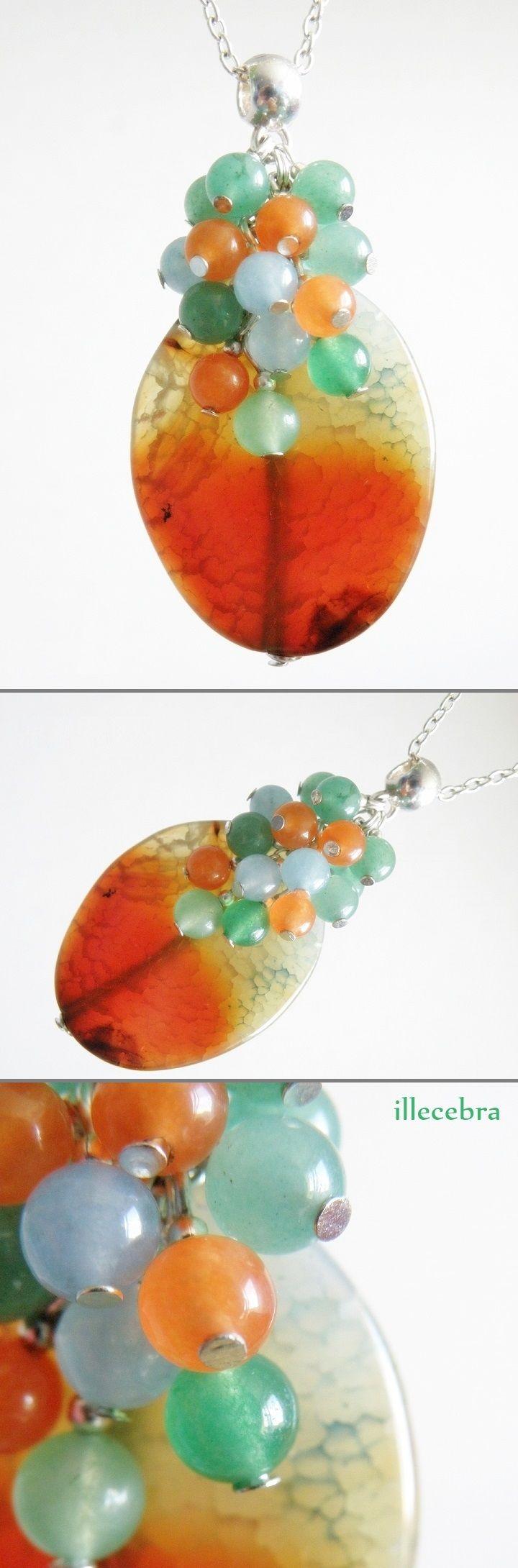 #illecebra #pendant #necklace #agate