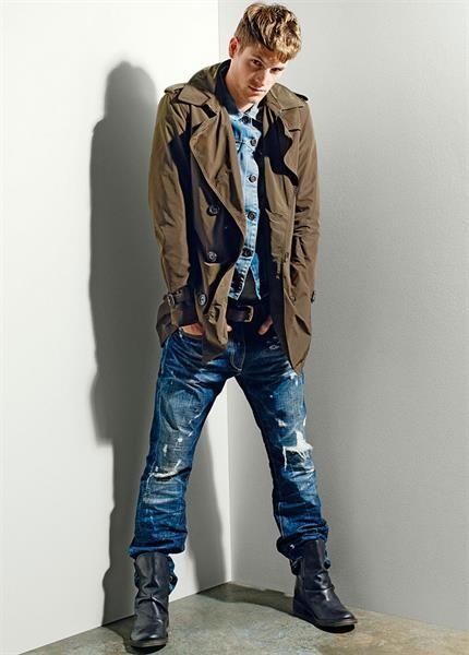 Фото модные мурские штаны джинсы