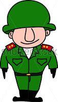Chistes de militares - Invitados al retiro