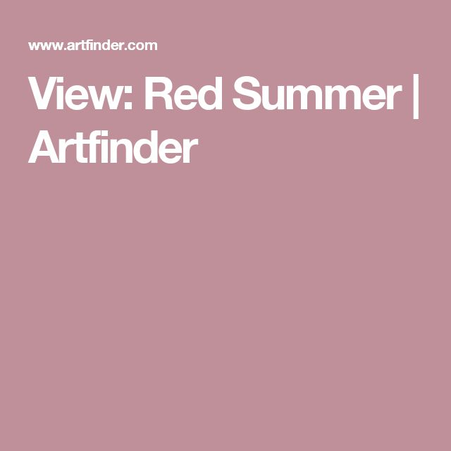 View: In Love With Red | Artfinder