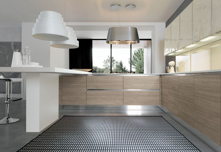 07 Contemporary kitchen VENUS by Zecchinon | Archisesto Chicago |
