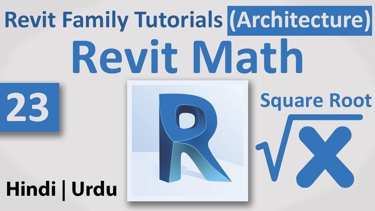 23-Revit Math   Square Root   Autodesk Revit Architecture Family Full Tu...