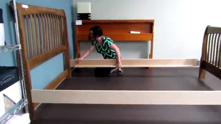 Replacement wood bed rails product demonstrations