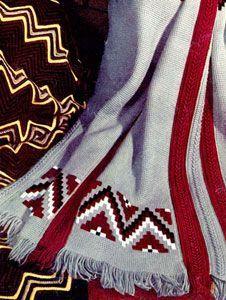 Indian Stripe Afghan   Free Crochet Patterns