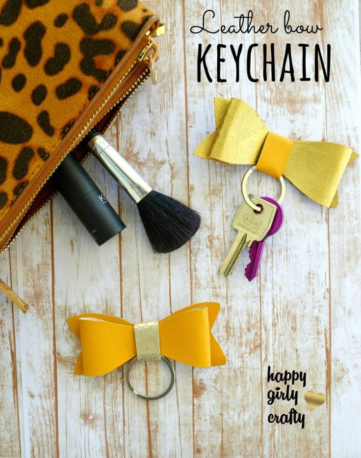 How to Make a Key Fob Bow   SHARE IT 32