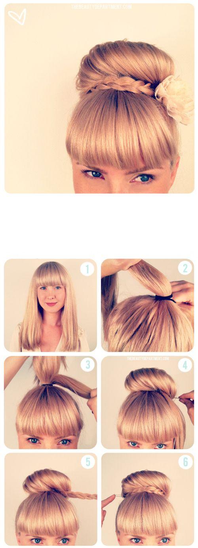 Vous souhaitez une coiffure simple et rapide à réaliser chaque matin? Voici cinq idées pour ne pas trop vous embêter au réveilet avoir une coiffure sympa