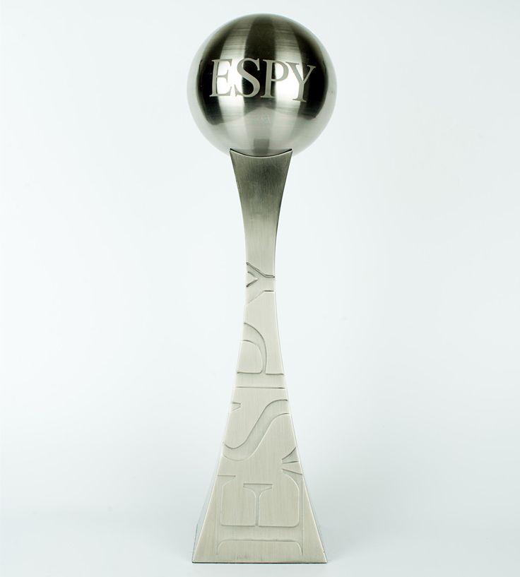 2015 ESPY Award Trophy, Metal silver ESPY Trophy, Replica ESPY trophy awards #Affiliate