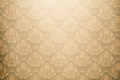 Vintage Yellow Damask Background #tissue #design #abstract #floral #cartoon #old #decorative #paper #antique #template #art #damask #baroque #wallpaper #gold #ornament #sample #flower #creative #chocolate #western #retro #repetition #illustration #seamless