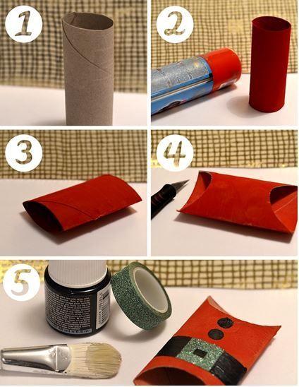 DIY rond de serviette en rouleaux de papier toilette le blog de marie-louise