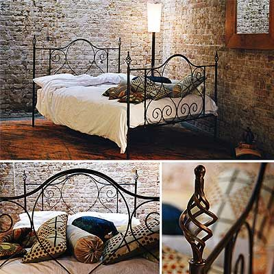 find this pin and more on wrought iron bed frame - Cast Iron Bed Frame