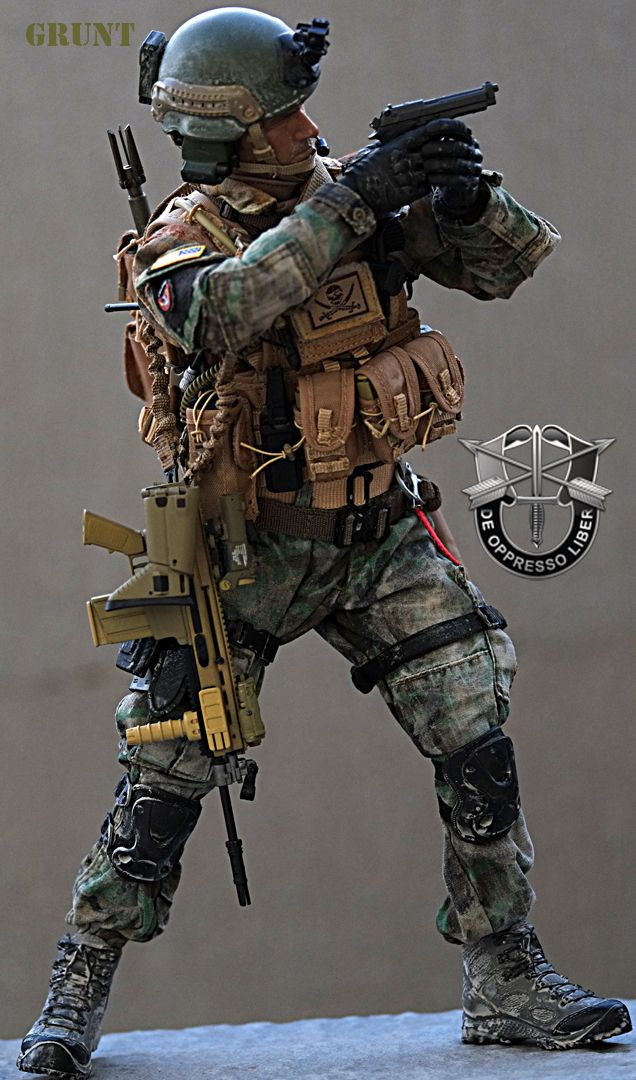 Modern War (1990s to Present) [Toy City] Green Beret ...