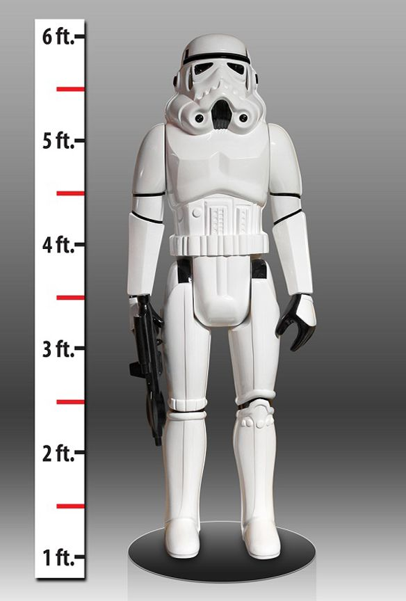 Life-Sized Star Wars Stormtrooper Action Figure