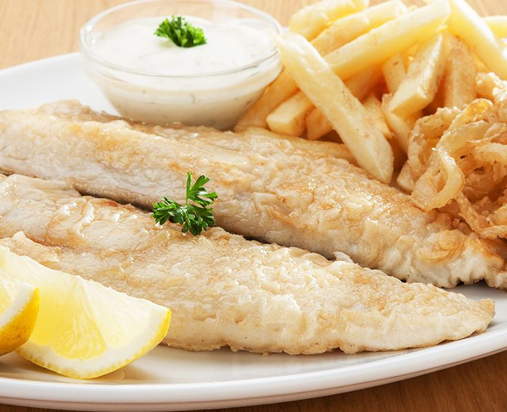 Hake and Chips: Lightly dusted and grilled. Served with tartare sauce. Read more: https://www.spur.co.za/menu/schnitzel-and-seafood/