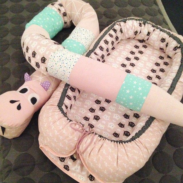 Pasteller  #babynest#seng#bedroom#babyseng#slange#putteslange#sove#kidsroom#kids#babyværelse#børneværelse#børneseng#diy#egetdesign#krea#byschmidtpaulsen#miinimy