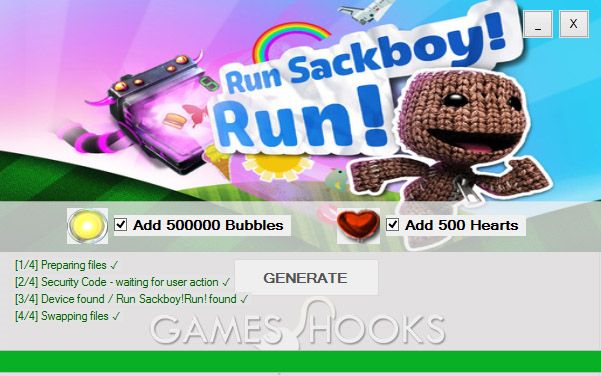 Run Sackboy! Run! Hack is innovative Tool that can give you unlimited Bubbles and Hearts. Check for more information.