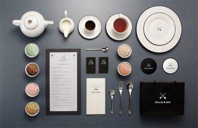 Shovel & Bell - Contoh Corporate Identity untuk Branding Bisnis