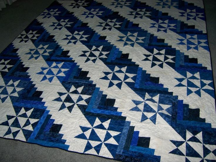 873 best BLUE QUILTS images on Pinterest | Quilt block patterns ... : blue quilt patterns - Adamdwight.com