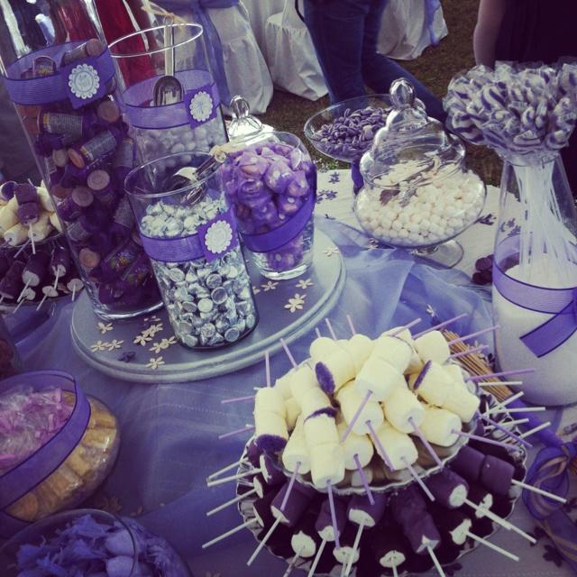 Purple Wedding Dessert Table: Best 25+ Purple Candy Bar Ideas On Pinterest