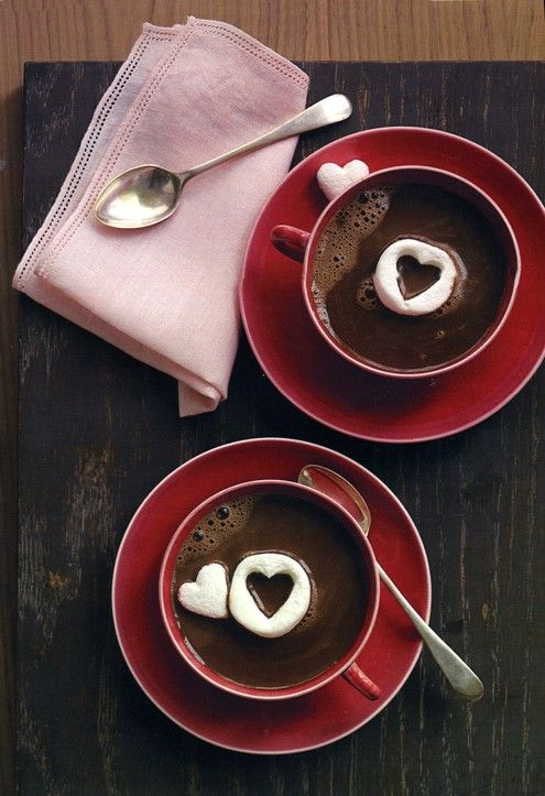 This Valentine's Day Warm Him Up With Homemade Hot Chocolate, Valentine's day Hot Chocolate in 2014