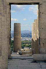 The Partenon, Acropilos, Athens, Greece