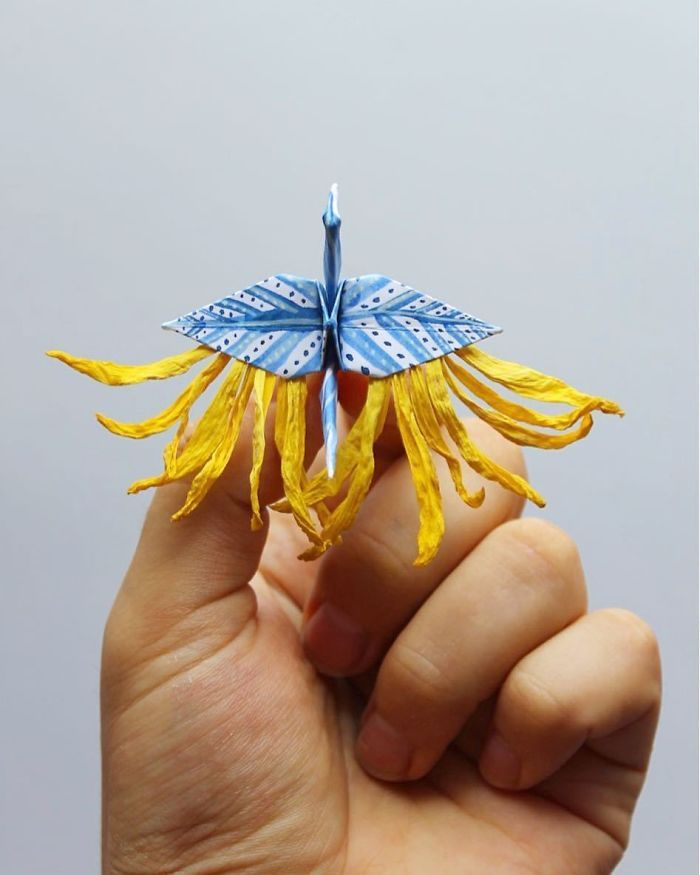 I Folded And Decorated An Origami Crane Every Day, For 1000 Days