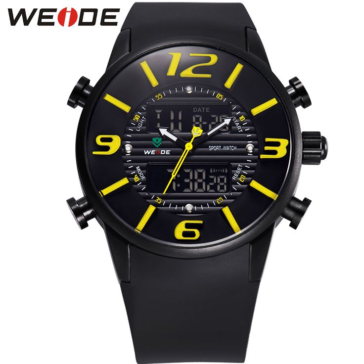 Like and Share if you want this  WEIDE Sports Watches Men Luxury Brand Military Army Outdoor Waterproof Analog Dual Time Display Quartz Digital PU Wristwatches     Tag a friend who would love this!     FREE Shipping Worldwide     Get it here ---> https://shoppingafter.com/products/weide-sports-watches-men-luxury-brand-military-army-outdoor-waterproof-analog-dual-time-display-quartz-digital-pu-wristwatches/