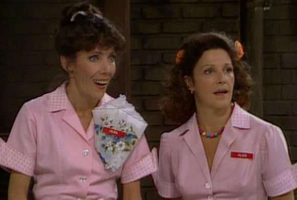 old tv show alice | Alice - Flo's Farewell - Vera & Alice - Sitcoms Online Photo Galleries