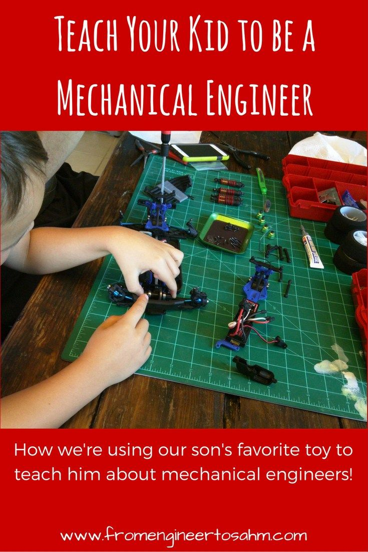 How you can teach your kid about mechanical engineers using a toy kids love!
