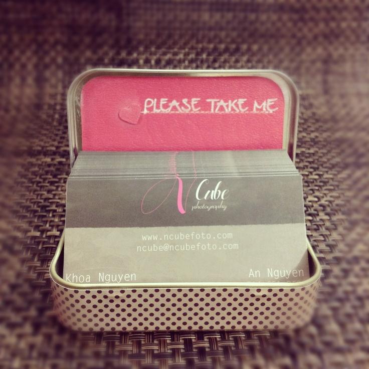 business card holder for him
