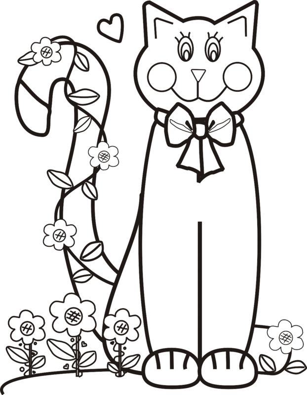 144 best Coloring Pages Line Drawings images on Pinterest Coloring - best of coloring pages black cat
