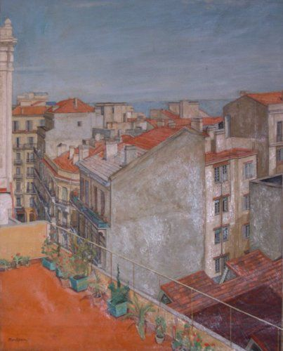 Leon Morrocco S Painting Of A French Square