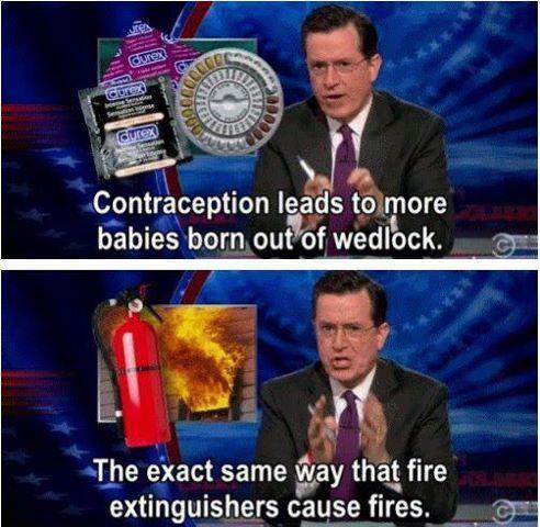 Exactly. Rick Santorum is an idiot.