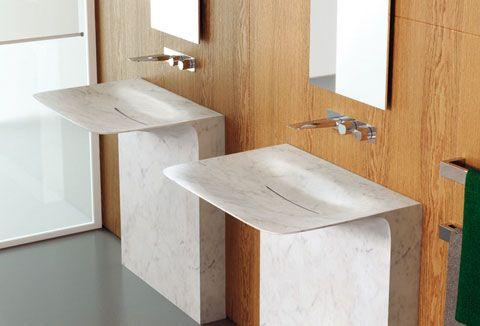 Teuco Milestone pedestal wash basin