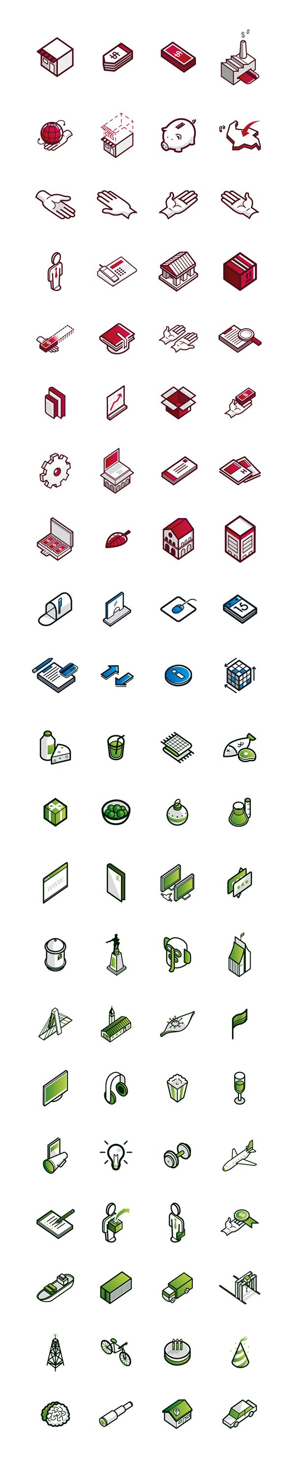 Banking Icons // Icon Design on Behance