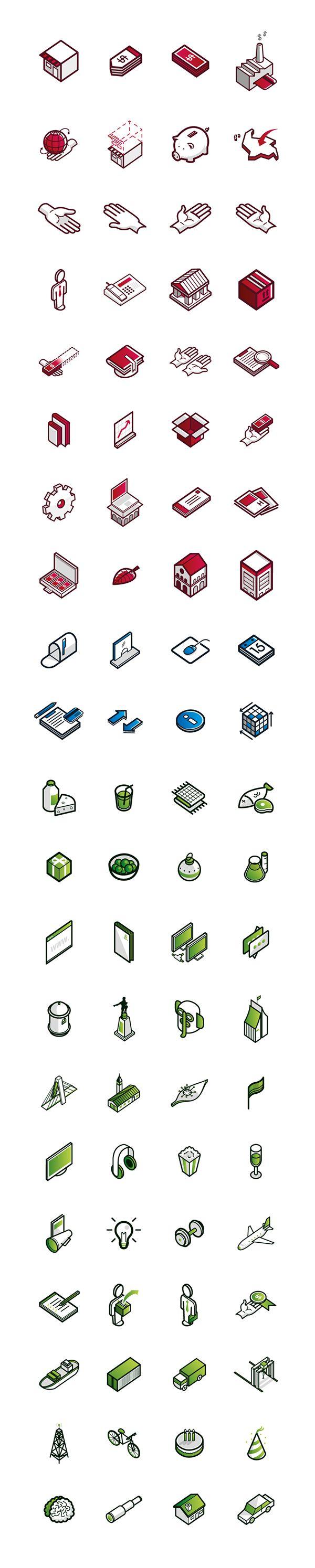Banking Icons // Icon Design on Behance