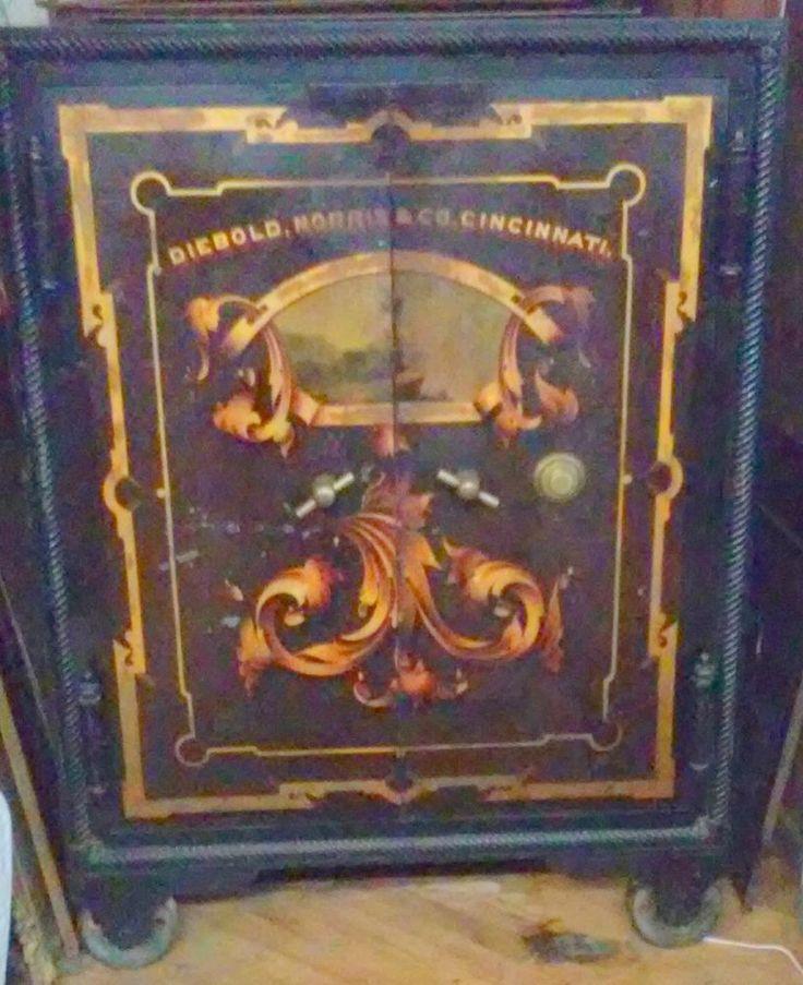 Antique 1874 1876 Diebold Norris Amp Company Cincinnati