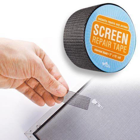 Window Screen Repair Tape by QCI Direct, http://www.amazon.com/dp/B0081S4H3O/ref=cm_sw_r_pi_dp_QxD2rb1NNA9PA