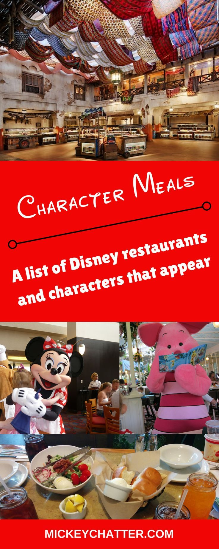 A complete list of all character meals and the characters that appear at Disney World. Family travel | Disney World