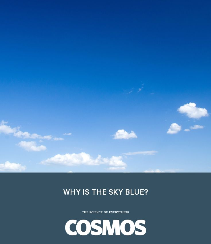 Why is the sky blue? It is a question that, in true Sumner Miller fashion, leads to many more: What is light? What is the sky made of? How do we perceive colour? #WhyIsItSo?