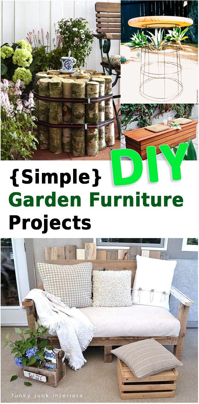 17 best ideas about diy garden furniture on pinterest for Garden design hacks