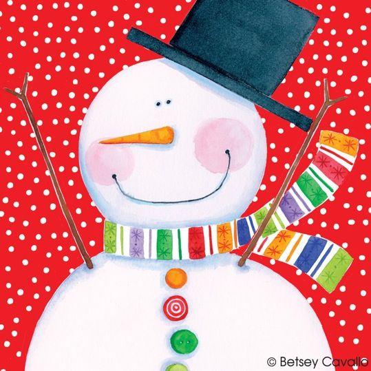 2117 Simple Snowman