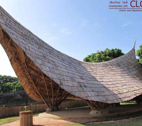Panyaden School Lanna Sala Bamboo Architecture Bamboo