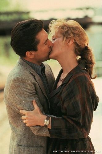 """Robert DeNiro and Meryl Streep in """"Falling in Love""""."""