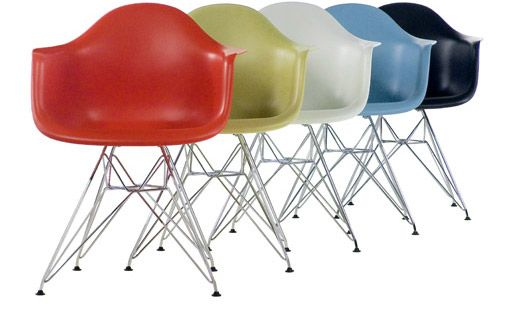 Eames: Wire Based, Moldings Plastic, Color, Plastic Chairs, Arm Chairs, Eames Moldings, Ray Eames, Plastic Armchairs, Herman Miller