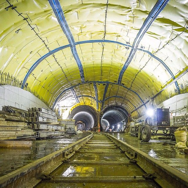 """(2/3) For New Yorkers, the Second Avenue Subway is something of a punchline, an accepted local synonym for """"when pigs fly."""" It's easy to see why: City officials have been talking about a second line on Manhattan's East Side since the 1920s, and the construction has been delayed so many times that former man-in-charge Michael Bloomberg says he's got a 50-50 shot at living to see it open (he's 72). (📷 Metropolitan Transportation Authority/Flickr)"""