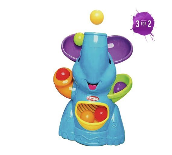 Buy Playskool Poppin' Park Elefun Busy Ball Popper at Argos.co.uk - Your Online Shop for Baby activity toys, Baby toys, Baby and nursery.