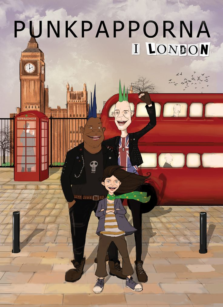Punkpapporna i London är en fristående uppföljare till Punkpapporna som kom 2010. Cornelia bor med sina 2 pappor, men hennes pappor är inte bara Läs hela pressmeddelandet..