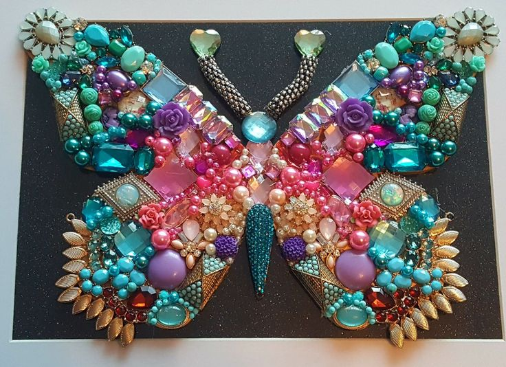My latest jewellery picture of a butterfly